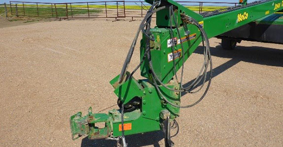 Hydraulic lines and PTO