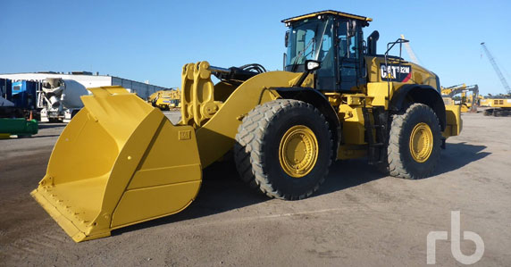 2017 Caterpillar 982M wheel loader sold at Ritchie Bros. auction