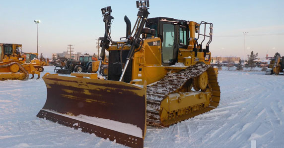 2018 Caterpillar D6T crawler tractors sold at Ritchie Bros. auction