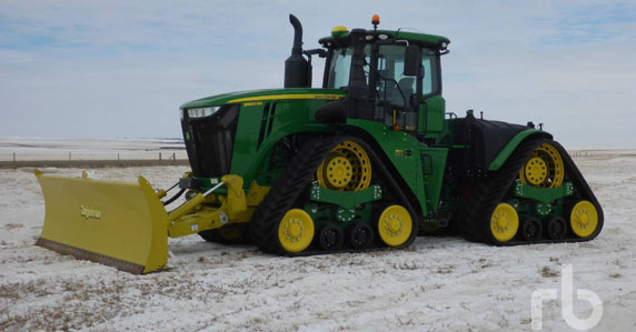 2018 John Deere 9620RX track tractor sold by Ritchie Bros.