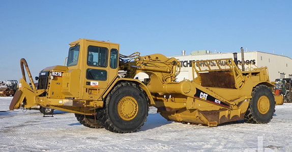 2006 Caterpillar 627G motor scraper sold at Ritchie Bros. auction