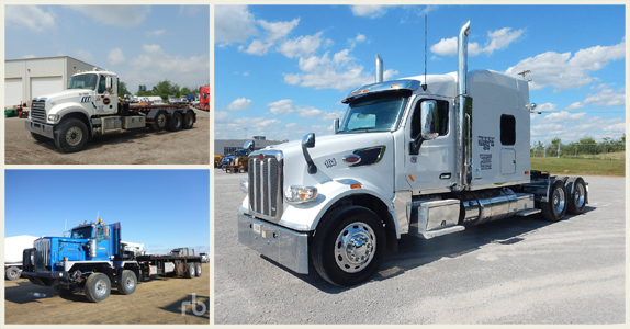 Transport trucks for sale at Ritchie Bros.