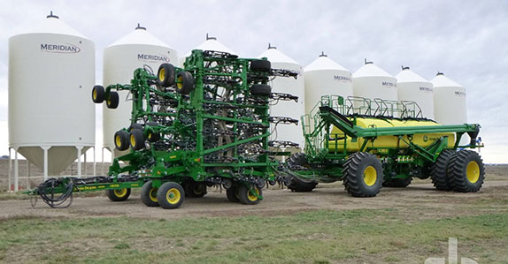 Agricultural equipment sold at Ritchie Bros.