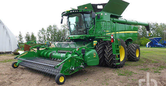 Combine sold at Ritchie Bros.