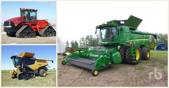 Farming equipment sold at Ritchie Bros.