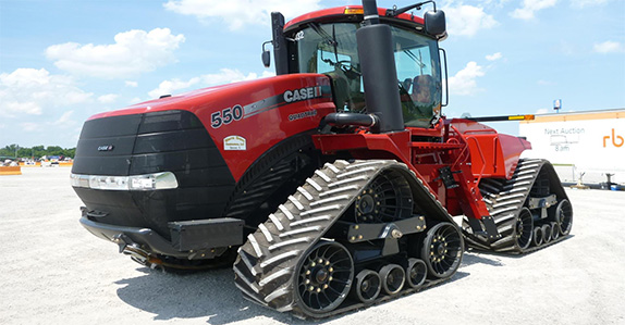 2013 Case IH 550S track tractor – US$345,000